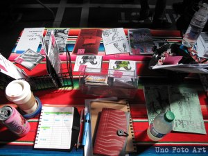 Our table at LAZF 2014